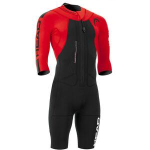 Head Swimrun Rough Shorty Suit Herren black-red black-red