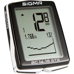 SIGMA SPORT BC 14.16 STS Fahrradcomputer kabellos bei fahrrad.de Online
