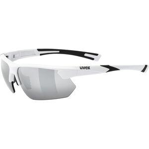 UVEX Sportstyle 221 Sportglasses white/silver white/silver