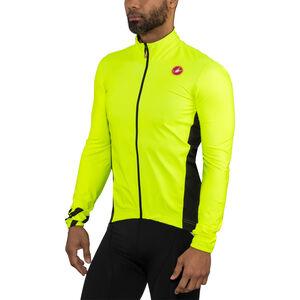 Castelli Pro Fit Light Rain Jacket Men yellow fluo