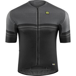 Alé Cycling Graphics PRR Slide SS Jersey Herren black-charcoal grey black-charcoal grey