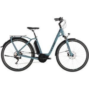 Cube Town Sport Hybrid Pro 400 Easy Entry Blue'n'Black bei fahrrad.de Online