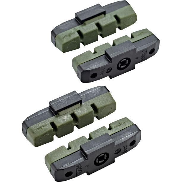 Magura HS11/HS33/HS33 R Bremsbeläge 2 Paar grün