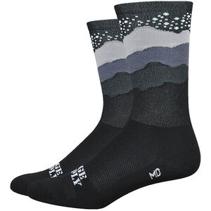 "DeFeet Aireator 6"" Socken ridge supply skyline starry night (schwarz) ridge supply skyline starry night (schwarz)"