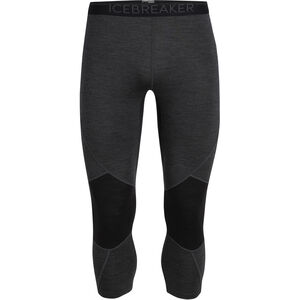 Icebreaker 260 Zone Legless Tights Herren jet heather/black jet heather/black