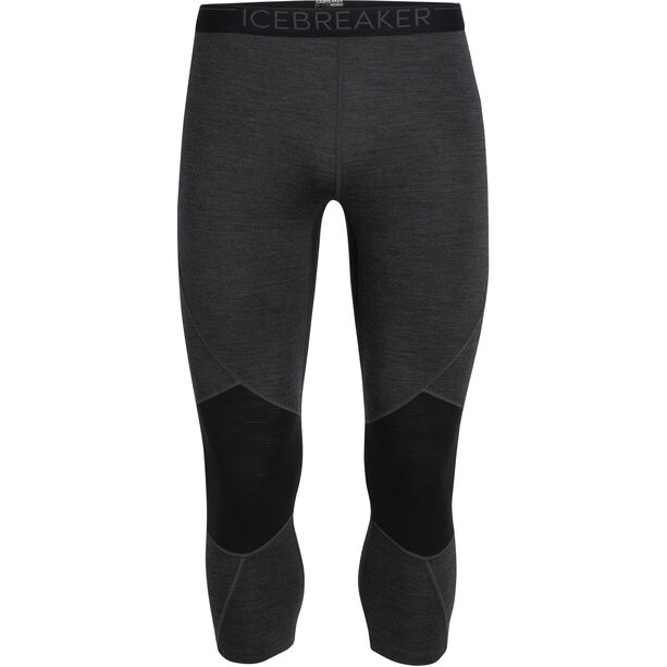 Icebreaker 260 Zone Legless Tights Herren jet heather/black