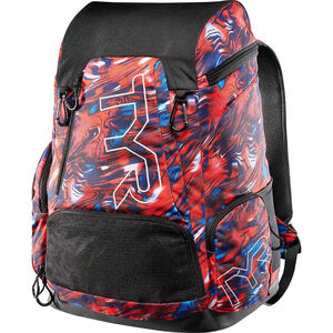 TYR Alliance Mercury Rising Print Backpack 45l red/white/blue red/white/blue