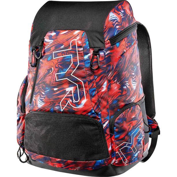 TYR Alliance Mercury Rising Print Backpack 45l red/white/blue