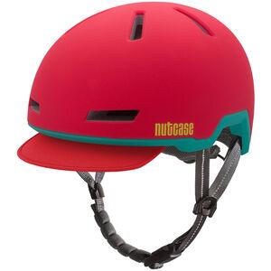 Nutcase Tracer Helmet Ember Red Matte bei fahrrad.de Online
