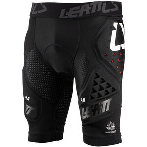 Leatt DBX 4.0 3DF Impact Shorts black black