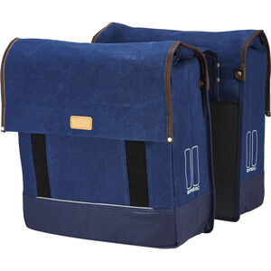 Basil Urban Fold Doppel-Gepäckträgertasche dunkel denim blau dunkel denim blau