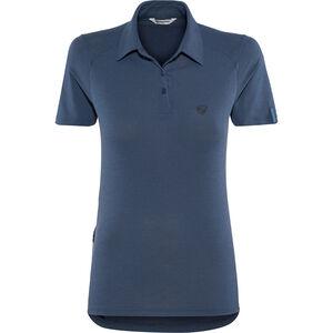 Ziener Clemenzia Polo Shirt Women antique blue