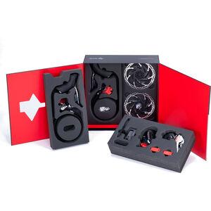 SRAM RED eTap AXS HRD D1 HRD Kit 2x12-fach schwarz schwarz