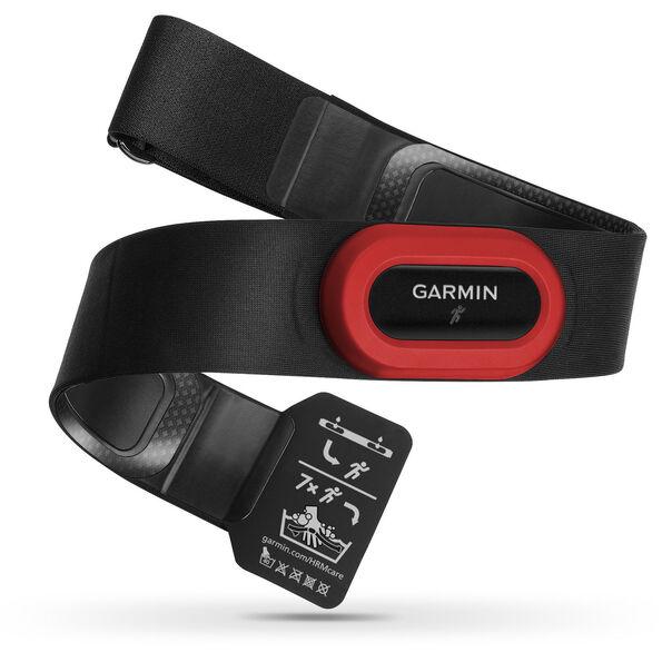 Garmin Premium HF-Brustgurt HRM Run ANT+ neue Version schwarz/rot