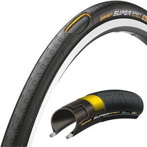 Continental Super Sport Plus 27 Zoll Draht schwarz
