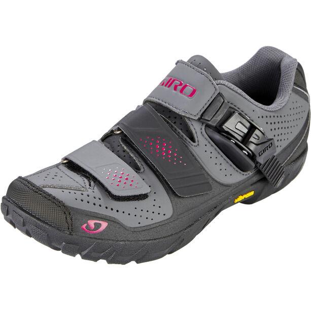 Giro Terradura Shoes Damen dark shadow/berry
