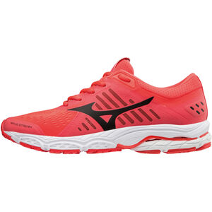 Mizuno Wave Stream Running Shoes Women fiery coral/black/white bei fahrrad.de Online