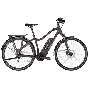 HAIBIKE SDURO Trekking 1.0 Damen schwarz/titan/grau matt bei fahrrad.de Online