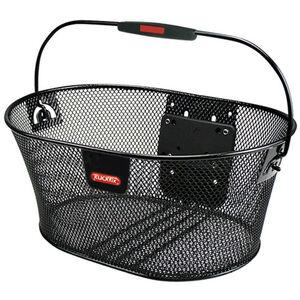 KlickFix Oval Korb feinmaschig schwarz bei fahrrad.de Online