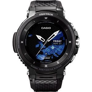 CASIO PRO TREK SMART WSD-F30-BKAAE Smartwatch Herren black/black/grey black/black/grey