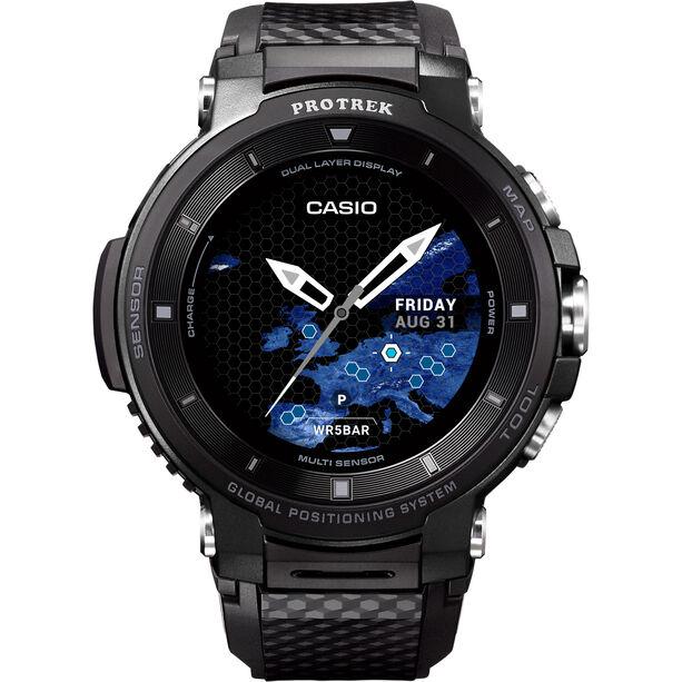 CASIO PRO TREK SMART WSD-F30-BKAAE Smartwatch Herren black/black/grey