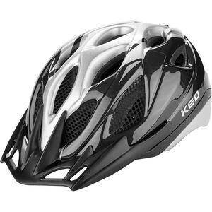 KED Tronus Helmet black silver black silver