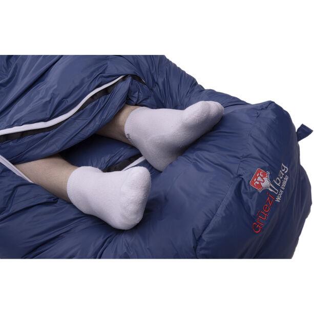 Grüezi-Bag Biopod DownWool Ice 200 Sleeping Bag night blue