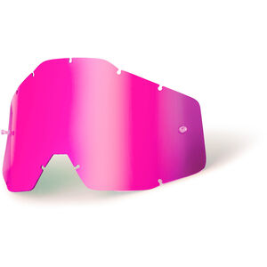 100% Replacement Lenses pink / mirror pink / mirror