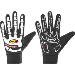 Northwave Skeleton W-Gel Full Gloves Herren black/white black/white