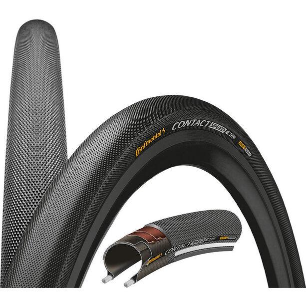 "Continental Contact Speed Reifen Double SafetySystem Breaker 28"" Draht Reflex"