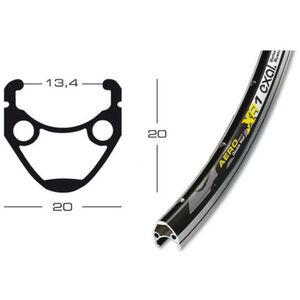 Exal XR-1 Vorderrad 13-622 Tiagra QR schwarz schwarz