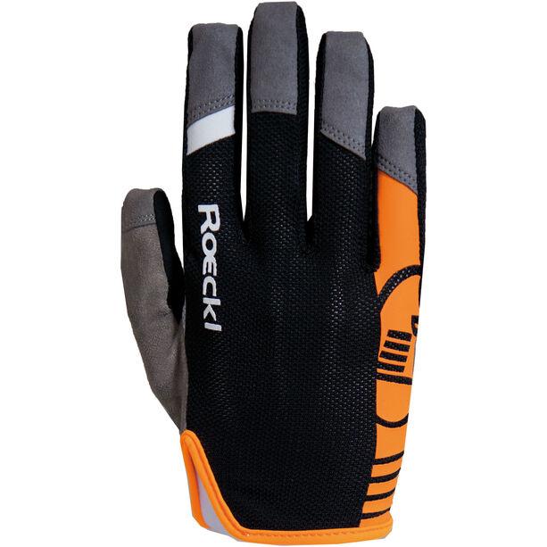 Roeckl Mango Handschuhe schwarz/orange