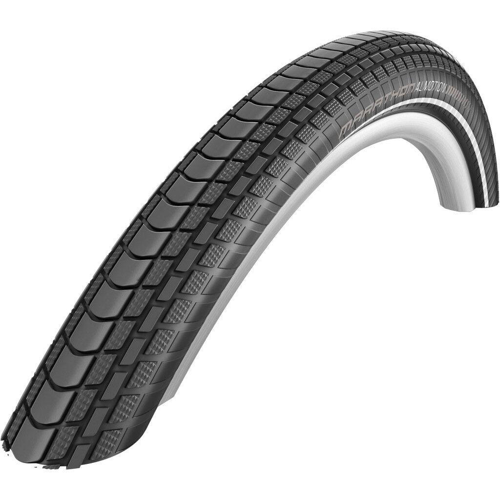 2 Stück Schwalbe Marathon Almotion Fahrrad Reifen 55-559 26 x 2,15 Reflex