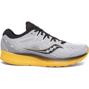 saucony Ride ISO 2 Shoes Men grey/yellow grey/yellow