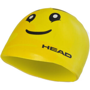 Head Silicone Sketch Cap yellow face yellow face