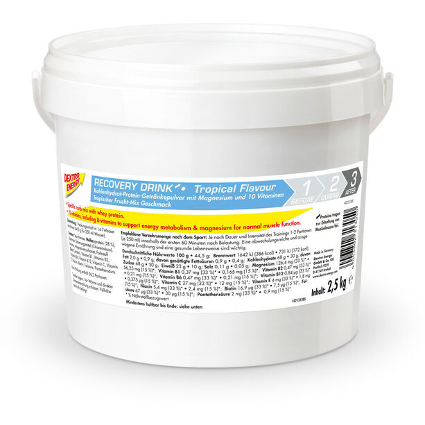 Dextro Energy Recovery Drink Dose 2,5kg Tropical