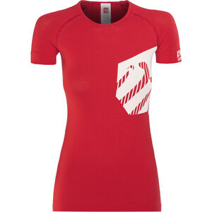 Compressport Casual Postural T-Shirt Athlete Women Red bei fahrrad.de Online