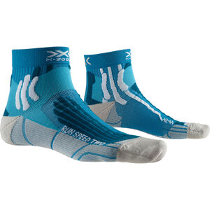 X-Socks Run Speed Two Socks Herren teal blue/pearl grey teal blue/pearl grey