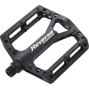 Reverse Black One Pedal schwarz/dunkelgrün bei fahrrad.de Online