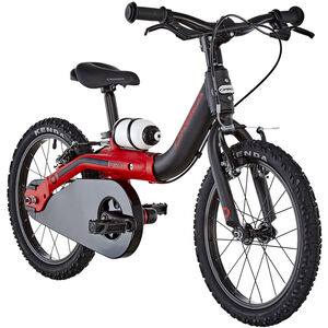 "ORBEA Grow 1 Kids 16"" Black-Red"
