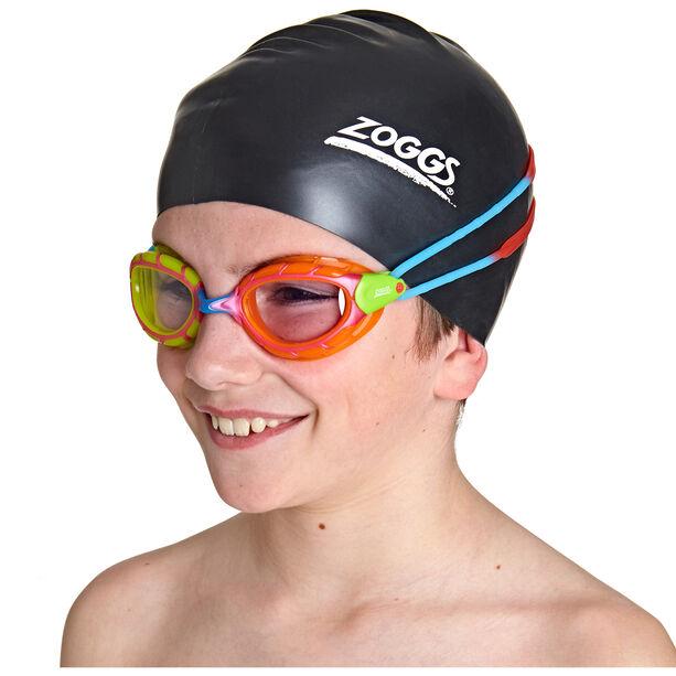 Zoggs Predator Goggles Kinder green orange/red blue/clear