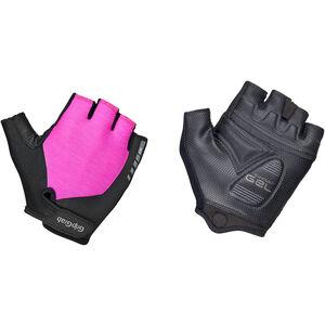 GripGrab ProGel Padded Short Finger Gloves Women Damen pink pink