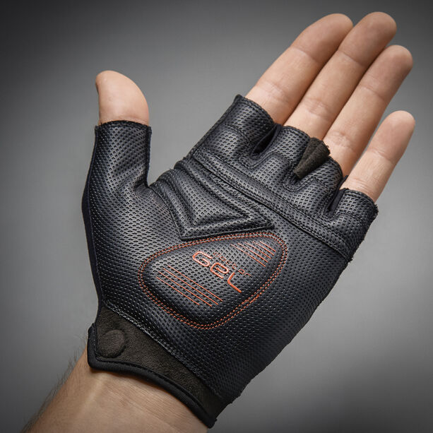 GripGrab ProGel Short Finger Padded Gloves black