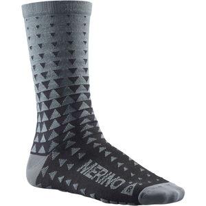Mavic Ksyrium Merino Graphic Socks asphalt/black asphalt/black