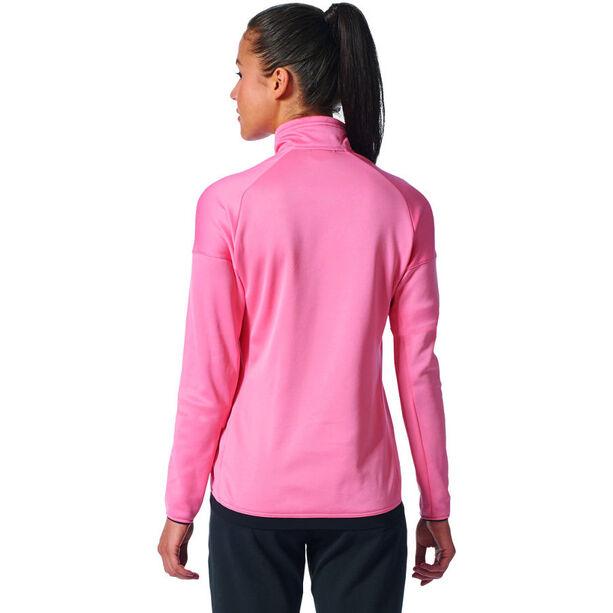 adidas TERREX Tivid 1/2 Zip Fleece Sweatshirt Damen tactile rose