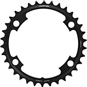 EASTON Cinch Shifting Ring Kettenblatt 4-Bolt 2x11-fach schwarz schwarz