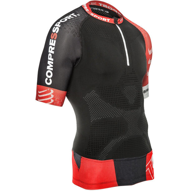 Compressport Trail Running V2 SS Shirt Herren black