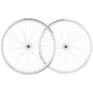 """Point SingleSpeed Laufradsatz 28"""" weiß weiß"""