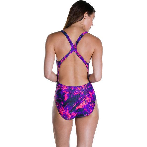 speedo FlyingFlash Allover Powerback Swimsuit Women