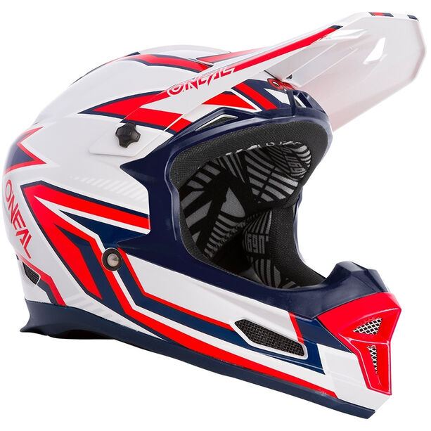 O'Neal Fury Helm Rapid silver/red